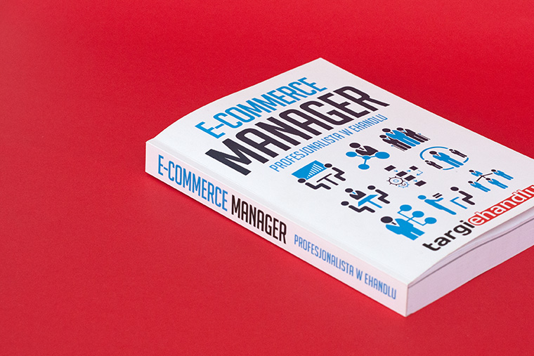 Book design - E-Commerce Manager - for Fundacja Polak 2.0