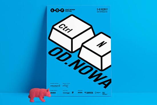 Identyfikacja wizualna Łódź Design Festival 2017