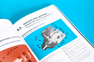 Leksykon Od Mechanika do Mechatronika zaprojektowany i złożony w całości przez nasze Studio Graficzne dla AHK