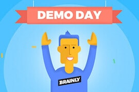 Infografika Demo Day w Brainly