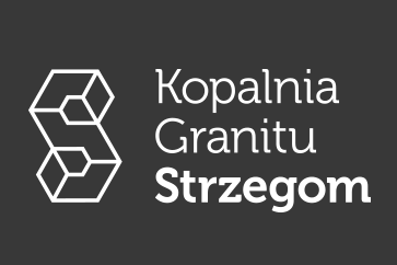 Logotyp Kopalni granitu Strzegom