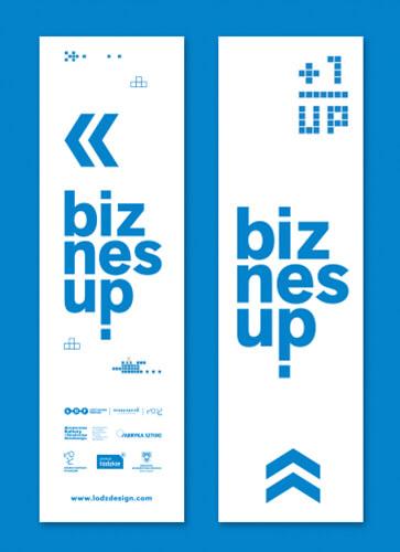 Jedna z ilustracji festiwalu BiznesUp! Biznes zaprojektowany