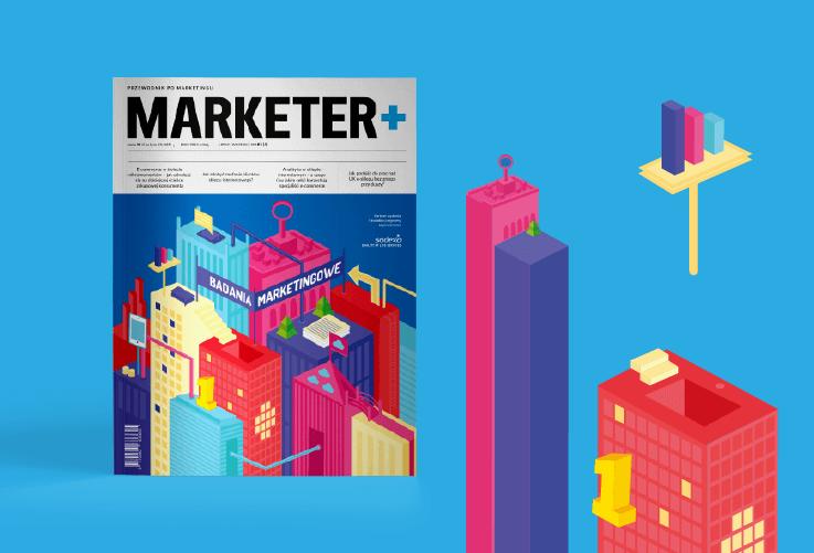 Marketer+, numer Badania marketingowe
