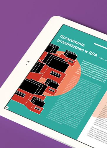 Dla katalogu centralnych zbiorów polskich bibliotek naukowych Nukat zaprojektowaliśmy kwartalnik Tytuł Ujednolicony