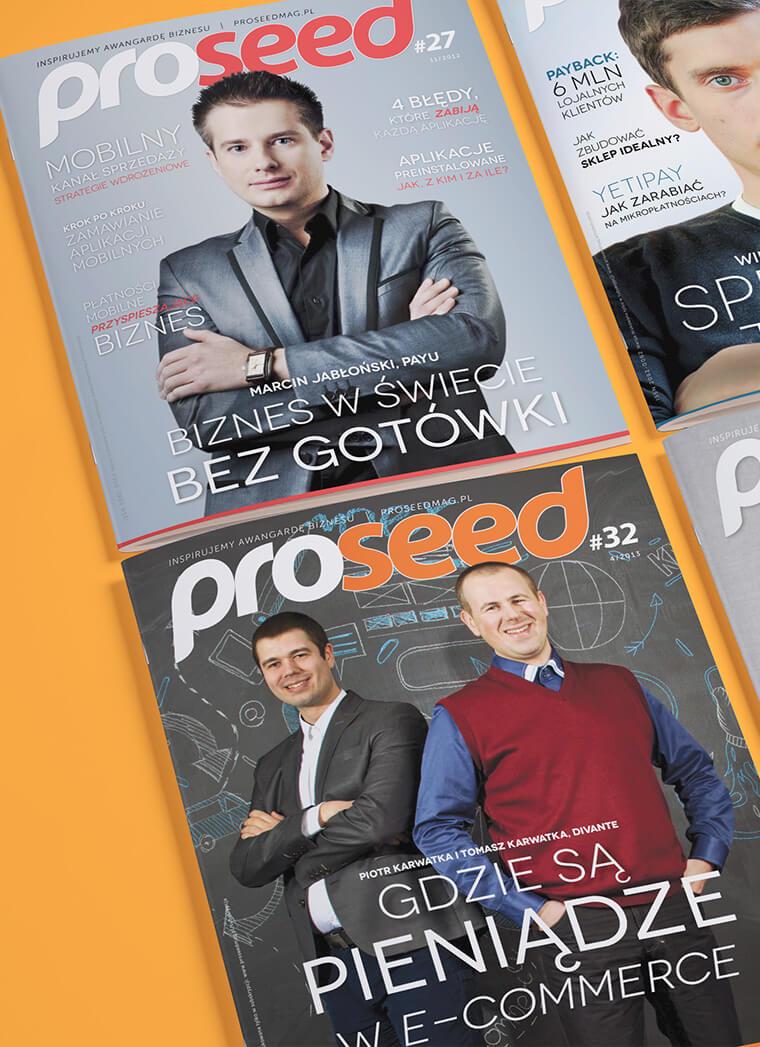 W naszym portfolio znajduje się skład magazynu branżowego Proseed