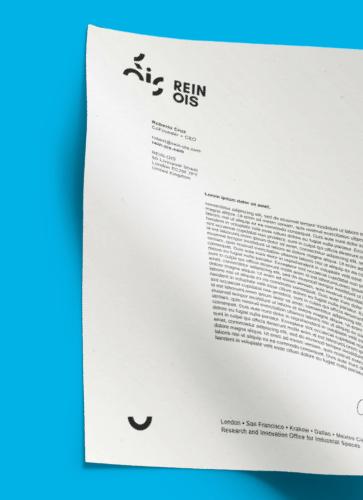 Identyfikacja Wizualna firmy Rein Ois