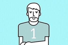 Infografika męskie zasady. dla Tołpa