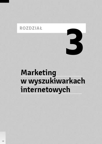 Projekt rozdziału trzeciego o marketingu