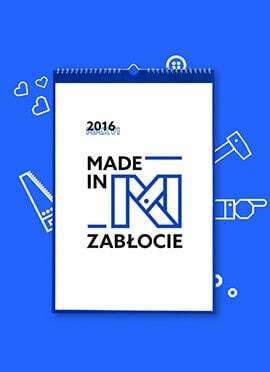 Kalendarz Made In Zabłocie: 2016