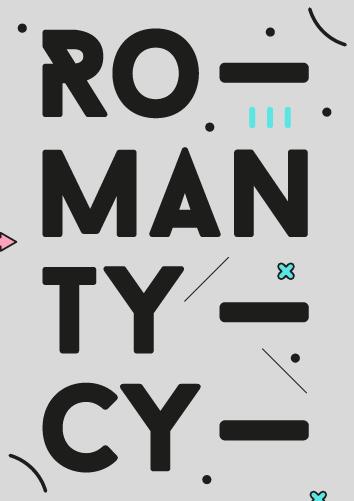 ROMANtycy - seria plakatów i grafik zaprojektowanych przez nasze Studio