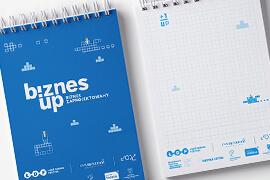 Identyfikacja Konferencji BiznesUp! Biznes zaprojektowany