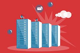 Infografika Historia serwerów