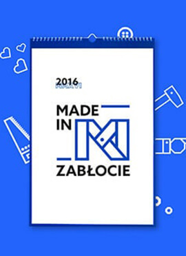 Kalendarz Made In Zabłocie: 2016