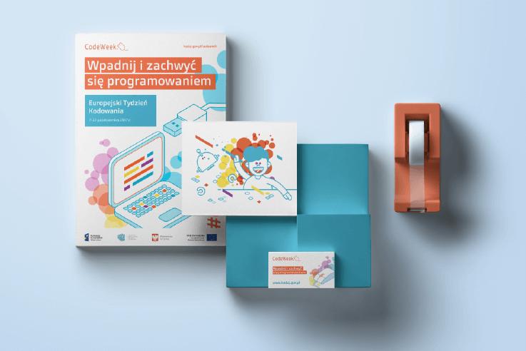 Projekty graficzne na Europejski Tydzień Kodowanie 2017 - CodeWeek