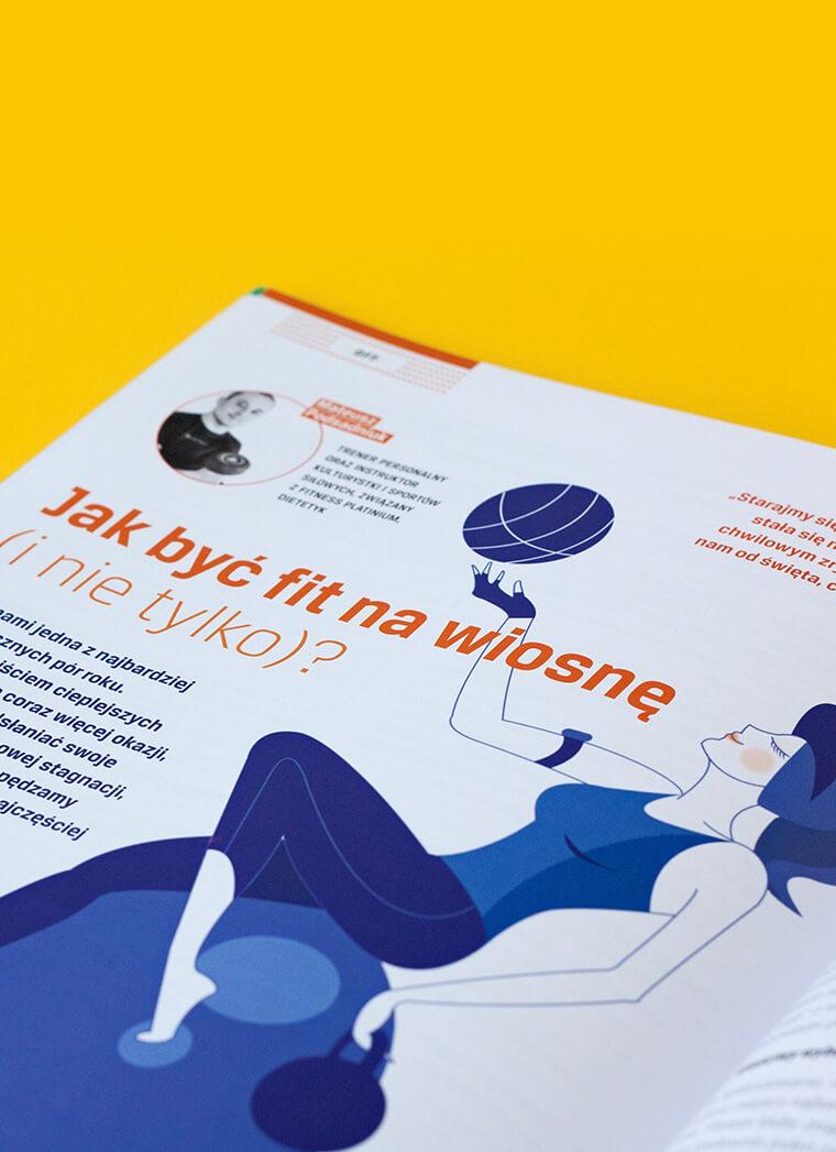 Dla Comarch ERP wykonaliśmy usługę składu i zaprojektowania czasopisma Nowoczesne Zarządzanie