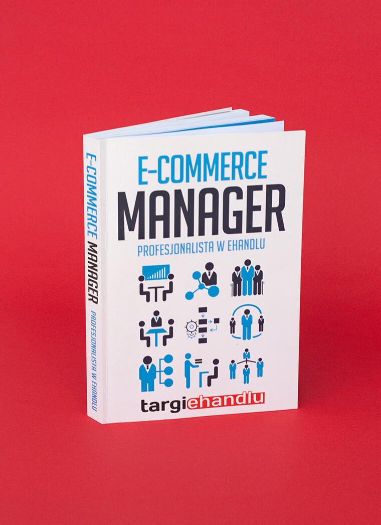 Książka E-Commerce Manager - okładka