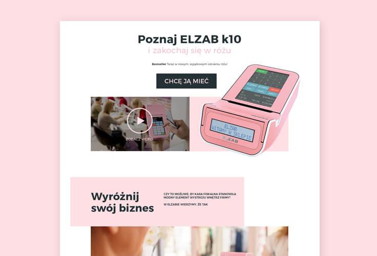 Strona www.rozowakasa.pl