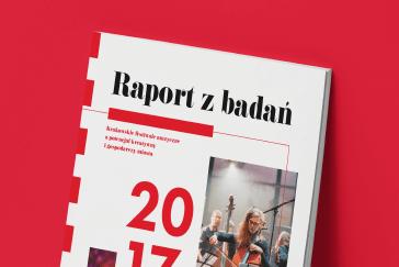 Okładka raportu dla KBF