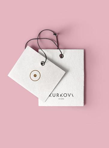 Projekt identyfikacji wizualnej marki Kurkova