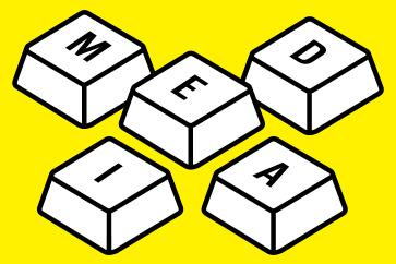 Projekt identyfikatora festiwalowego dla mediów - MEDIA
