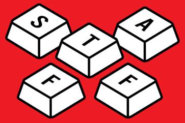 Projekt identyfikatora festiwalowego dla personelu - STAFF