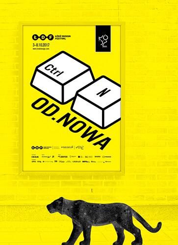 Plakat - Łódź Design Festival 2017