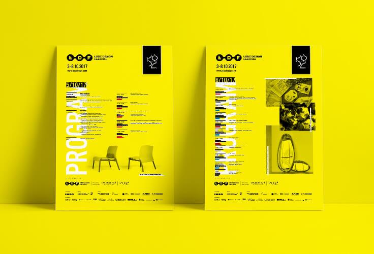 Projekt Programu festiwalowego Łódź Design fesdtival 2017