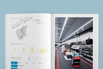 Katalog produktów dla Luxon LED
