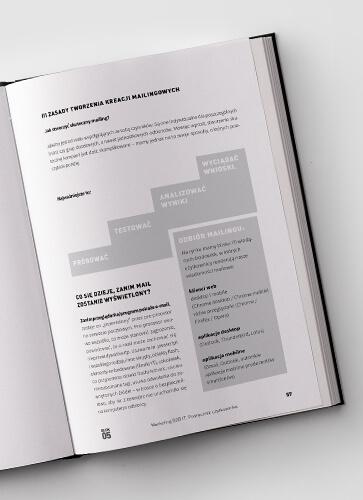 Projekt i skład publikacji o marketingu business to business