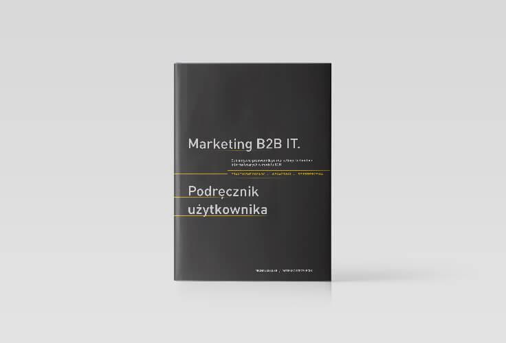 Okładka książki Marteting b2b Podręcznik użytkownika