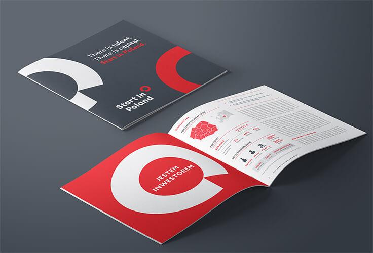 Broszura Start in Poland - dostępna w języku polskim i angielskim