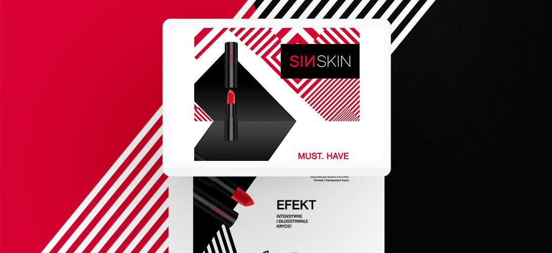 Kreacje Rich Content dla marki kosmetycznej SINSKIN