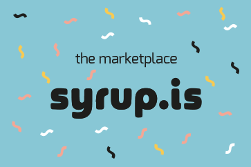 Logo Syrup.is Marketplace