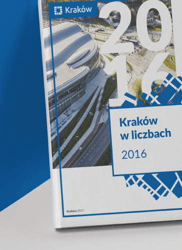 Okładka raportu dla Urzędu Miasta Krakowa