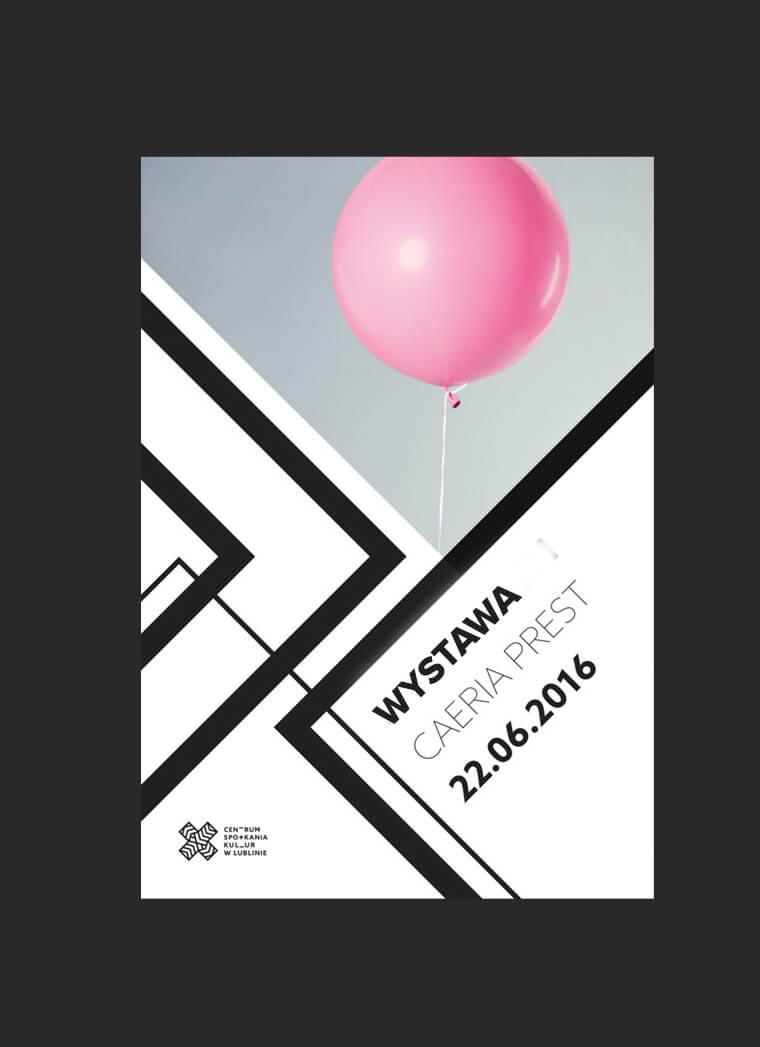 Identyfikacja wizualna dla Centrum Spotkania Kultur w Lublinie - praca konkursowa
