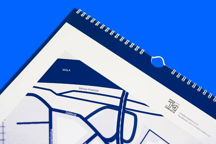 Nasza własna incjatywa - kalendarz Made In Zabłocie 2016